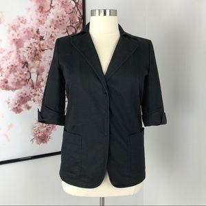 Tahari Short Sleeve Blazer Jacket